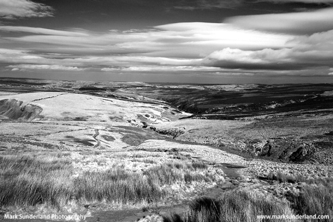 Bleak Moorland on Haworth Moor