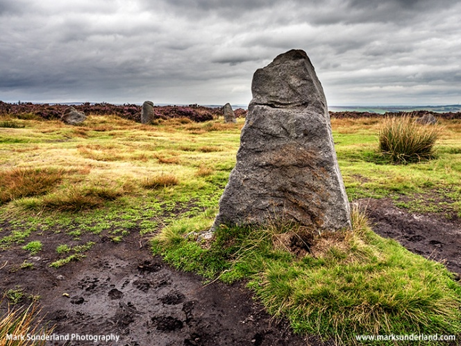 Twelve Apostles Stone Circle Burley Moor