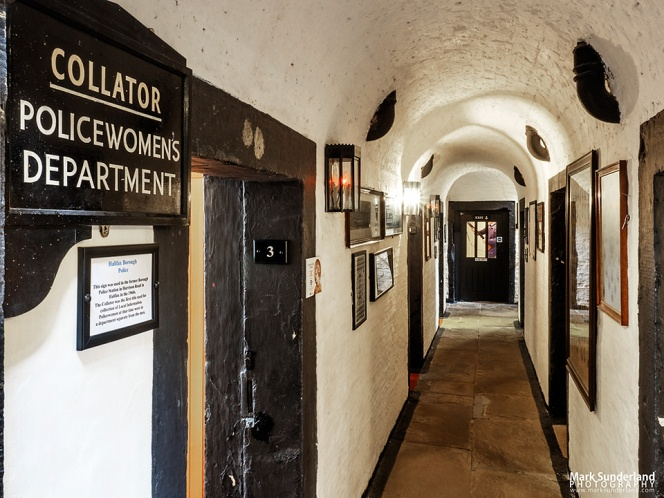 Passageway and cells at the Prison and Police Museum