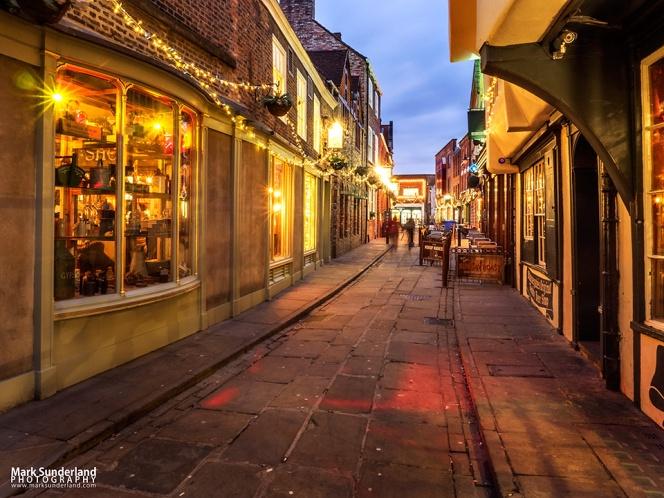 Little Stonegate in York