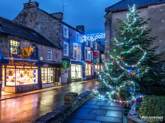 Pateley Bridge at Christmas