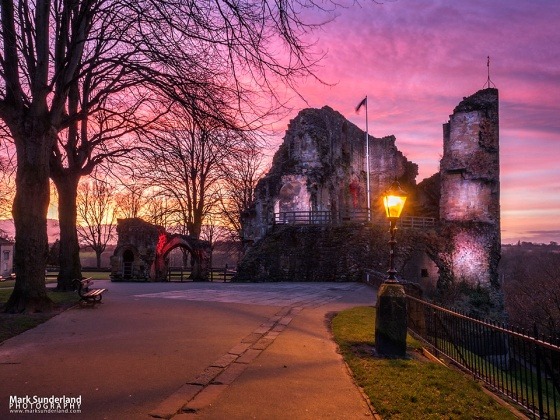Knaresborough Castle at Dusk