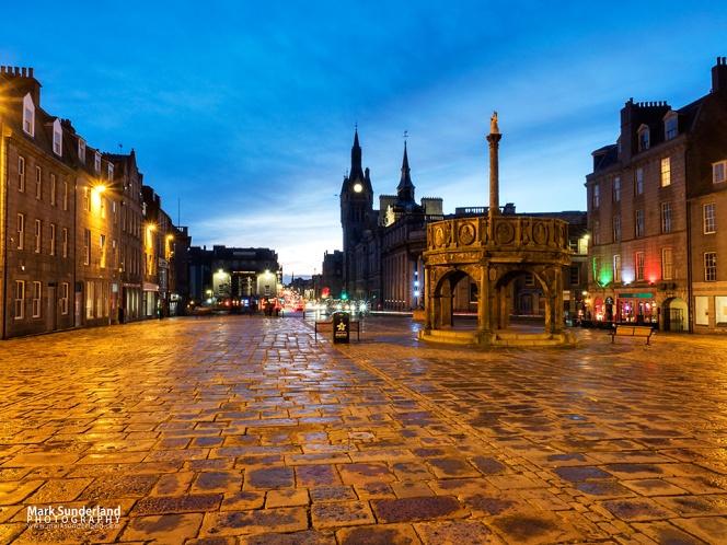 Castle Street in Aberdeen
