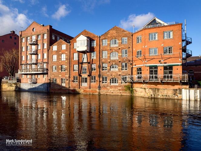 Old Fletland Mills Buildings in Leeds