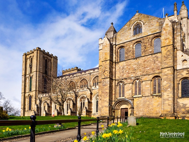 Ripon Cathedral in Spring, Ripon, North Yorkshire