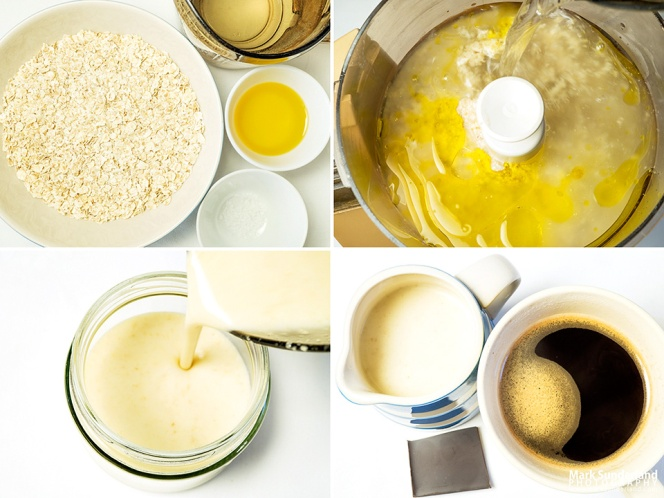Making dairy alternative oat cream