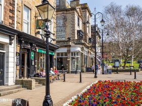 Montpellier Quarter in Spring at Harrogate
