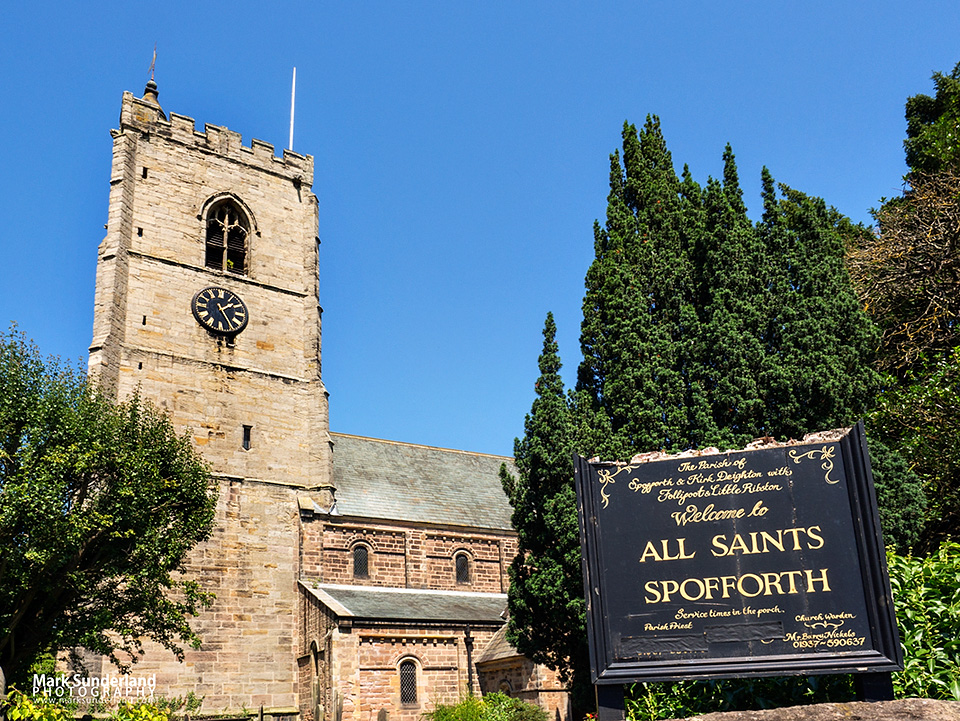 Church of All Saints at Spofforth